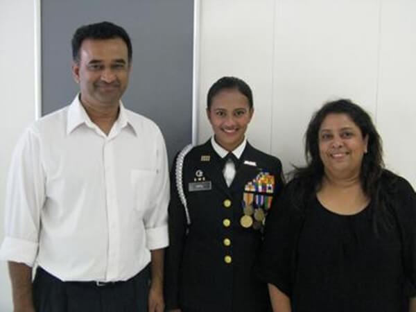 Simran Patil West Point Cadet, US military academy West Point NY, Indian Americans in US army